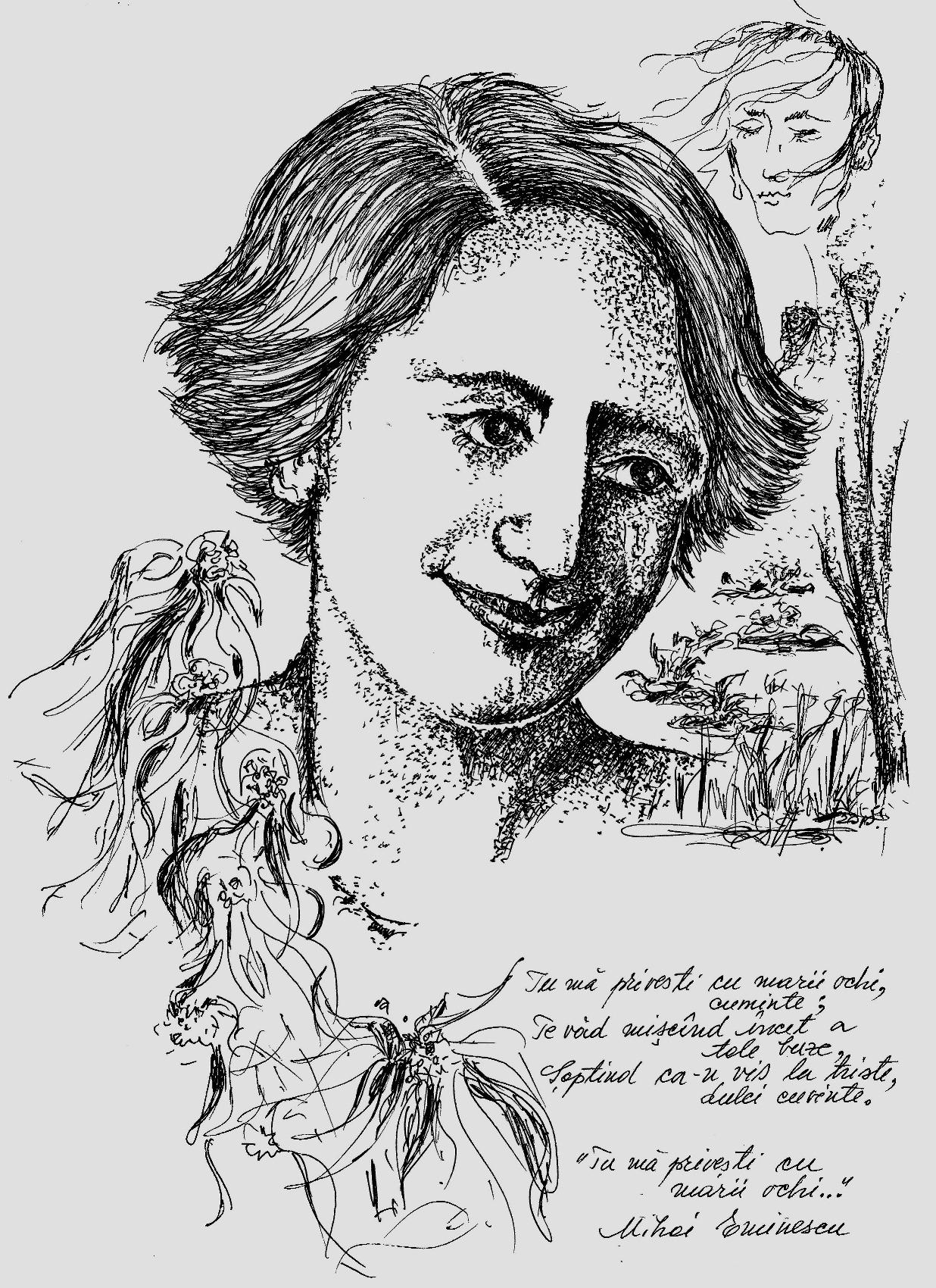 Poezia Vizuală Sau Cu împătimire Despre Eminescu Ziarul
