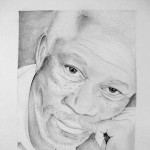 Morgan Freeman - by Diana Nine. Logo