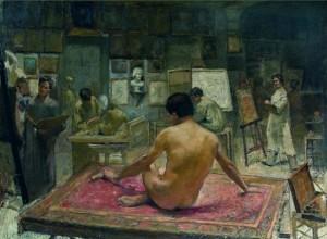 Alexandru Satmari, Curs de pictură cu model