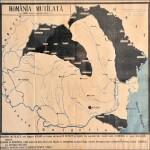 Harta României sub ocupație hortistă
