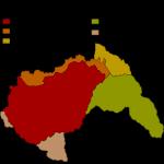 Ungaria după mai multe rapturi teritoriale