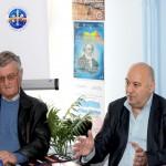 """Andrei Sever Mureșan, președintele Fundației Andrei Mureșanu- Deșteapă-te, române"""" vorbind în cadrul simpozionului"""