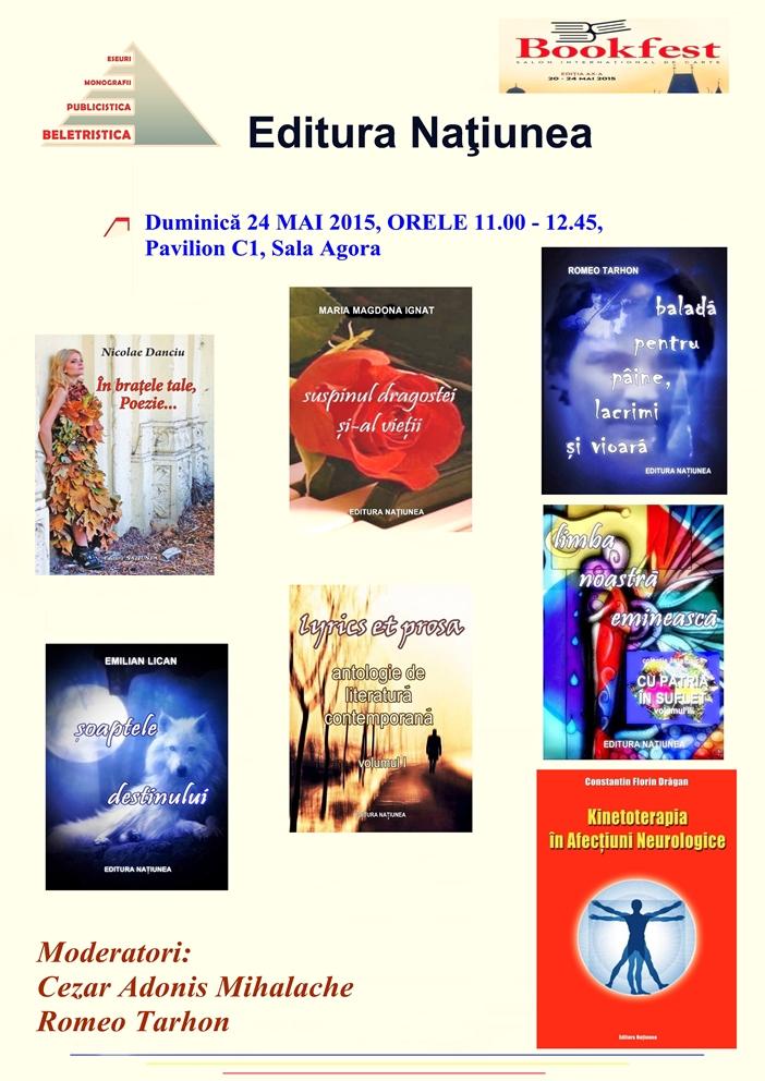 Editura Națiunea Bookfest 2015