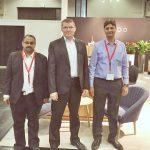 La Köln, Germania, SIMEX, directorul comercial Lavrincic Gabriel primind vizita partenerilor din India...